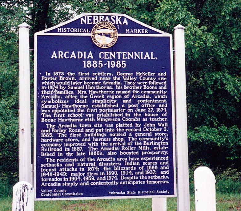Arcadia Centennial, 1885-1985