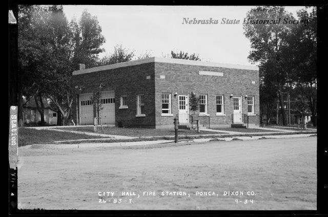 Ponca City Hall, view 1, RG4290.PH0-000390