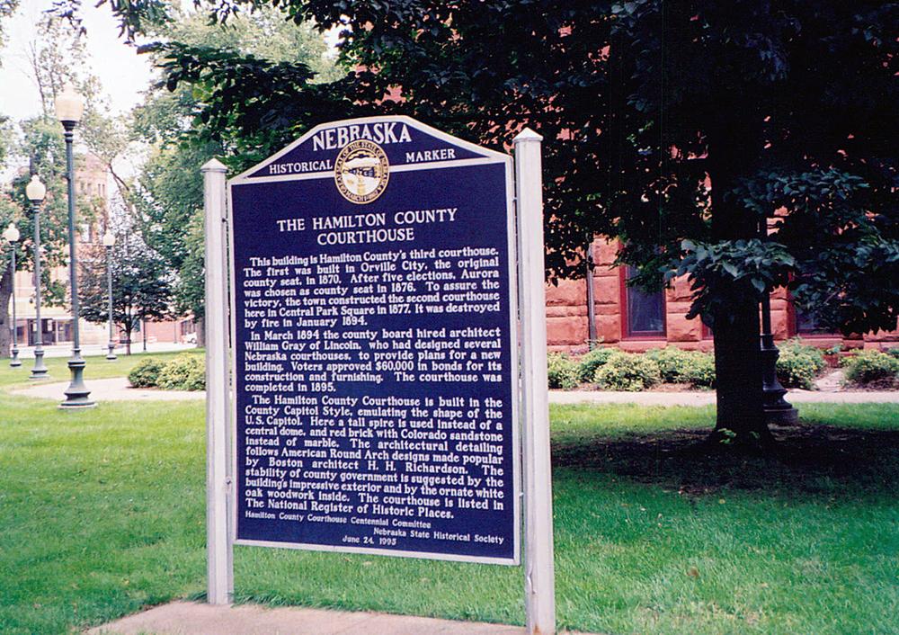 The Hamilton County Courthouse