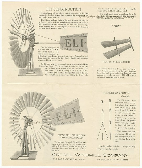 Kregel Windmill Company, 1418-1420 Central Avenue, Nebraska City, Nebraska