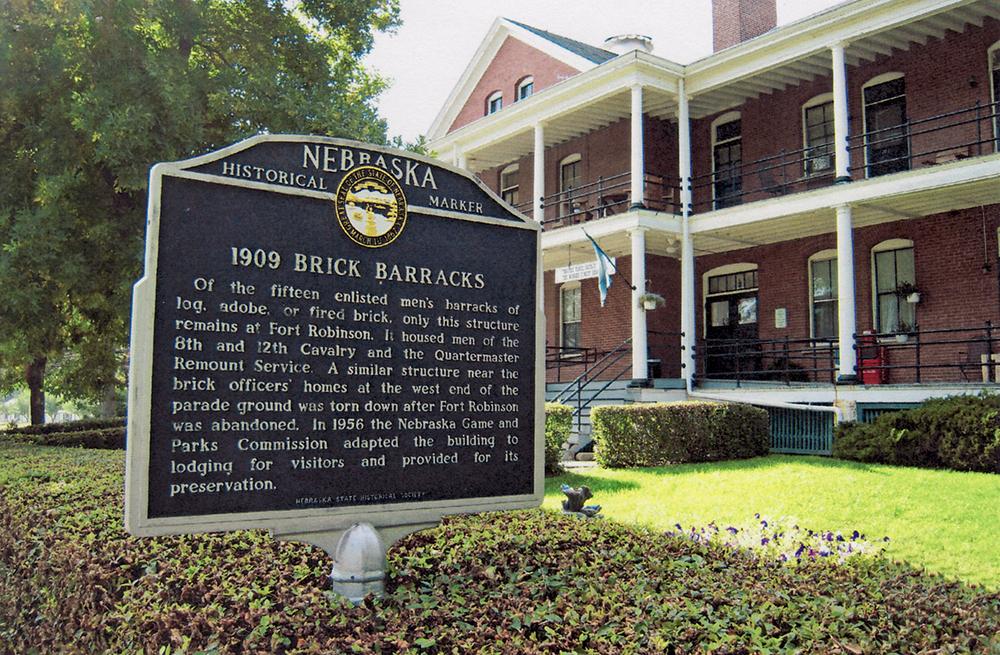 1909 Brick Barracks