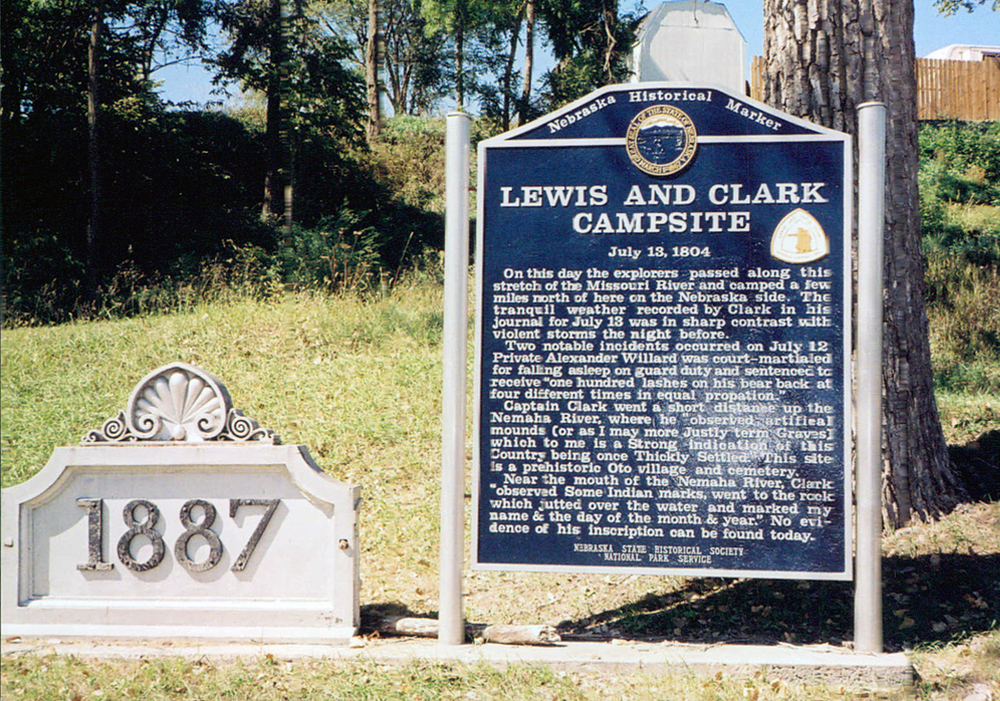 Lewis and Clark Campsite