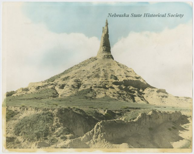 Chimney Rock, Morrill County, Nebraska. RG3319.PH000001-000005-1